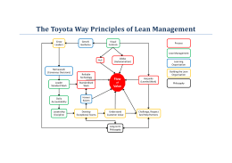 The Toyota Way handout - The Agile Coach Toolkit