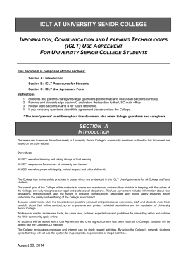 Student ICLT Use Agreement