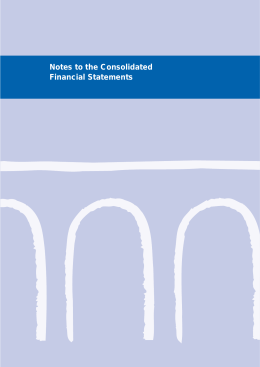Notes to the Consolidated Financial Statements