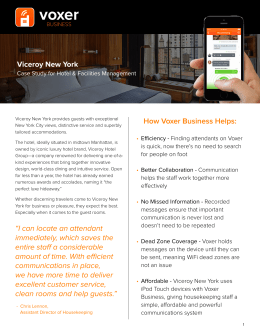 Viceroy New York - Case Study
