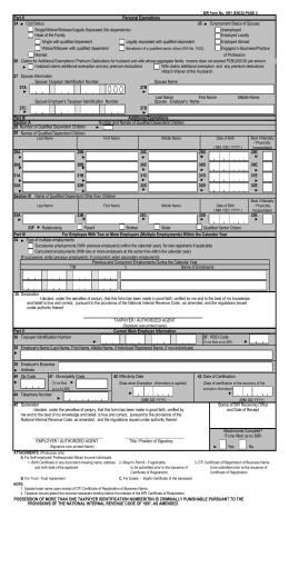 BIR Form 1902 eTIS