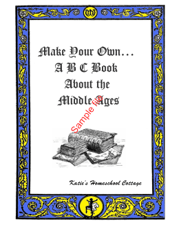 Make Your Own… ABC Book About the Middle Ages