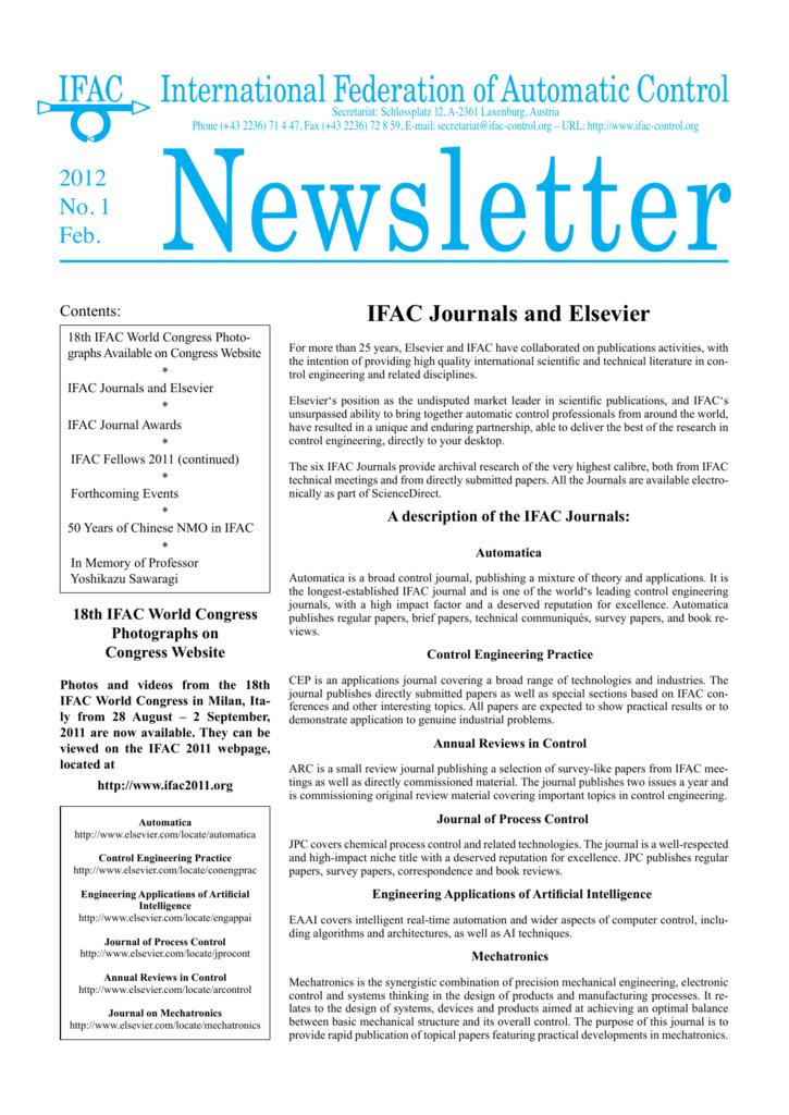 International Federation of Automatic Control