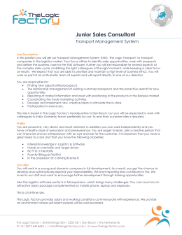 Junior Sales Consultant