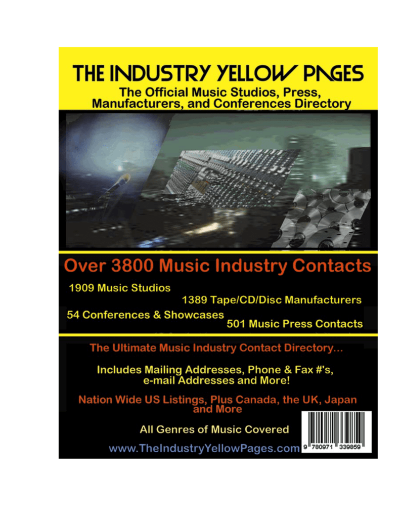 Studios   - Industry Yellow Pages