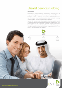 emirates telecommunications corporation