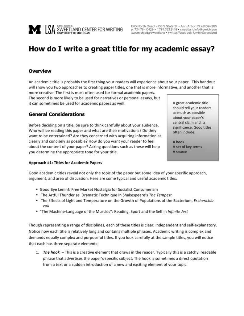 High School Persuasive Essay  Population Essay In English also How To Write A Good English Essay How Do I Write A Great Title For My Academic Essay Essay Sample For High School