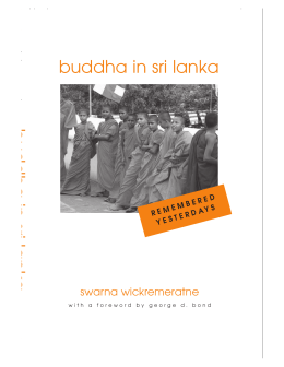 Buddha in Sri Lanka : Remembered Yesterdays