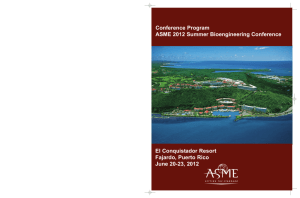 Final Program - ASME Conferences