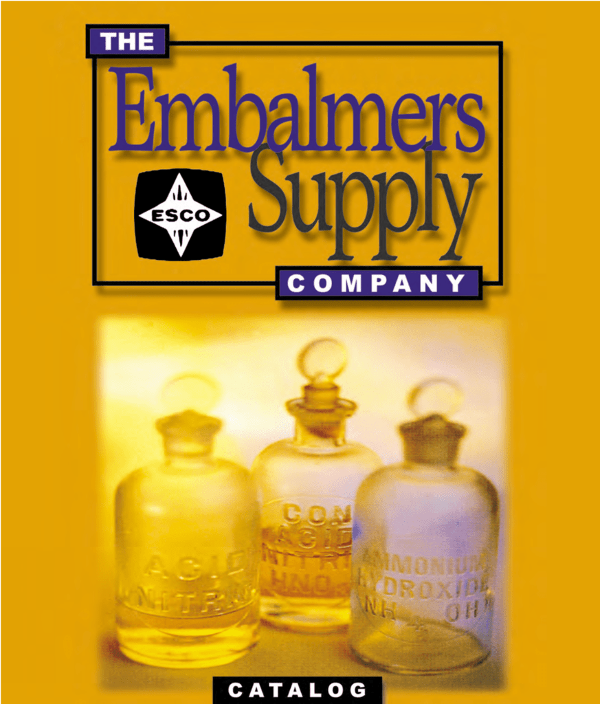 Catalog PDF - Embalming Supply Company