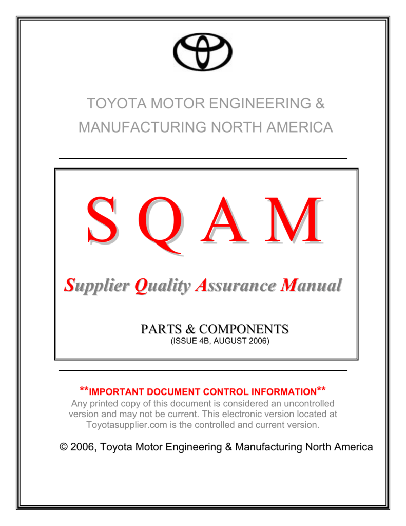 Toyota Acronyms List