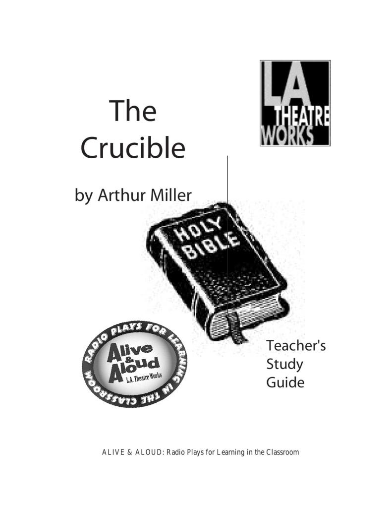 The Crucible - LA Theatre Works