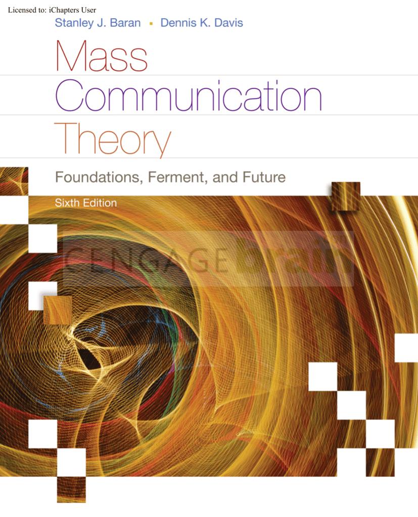 Mass communication theory foundations fandeluxe Choice Image