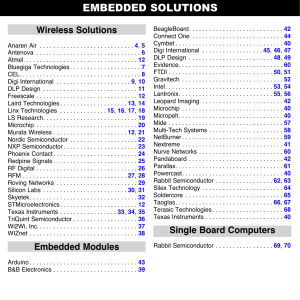 Embedded Solutions - Mouser Electronics