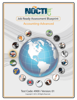 Accounting Advanced