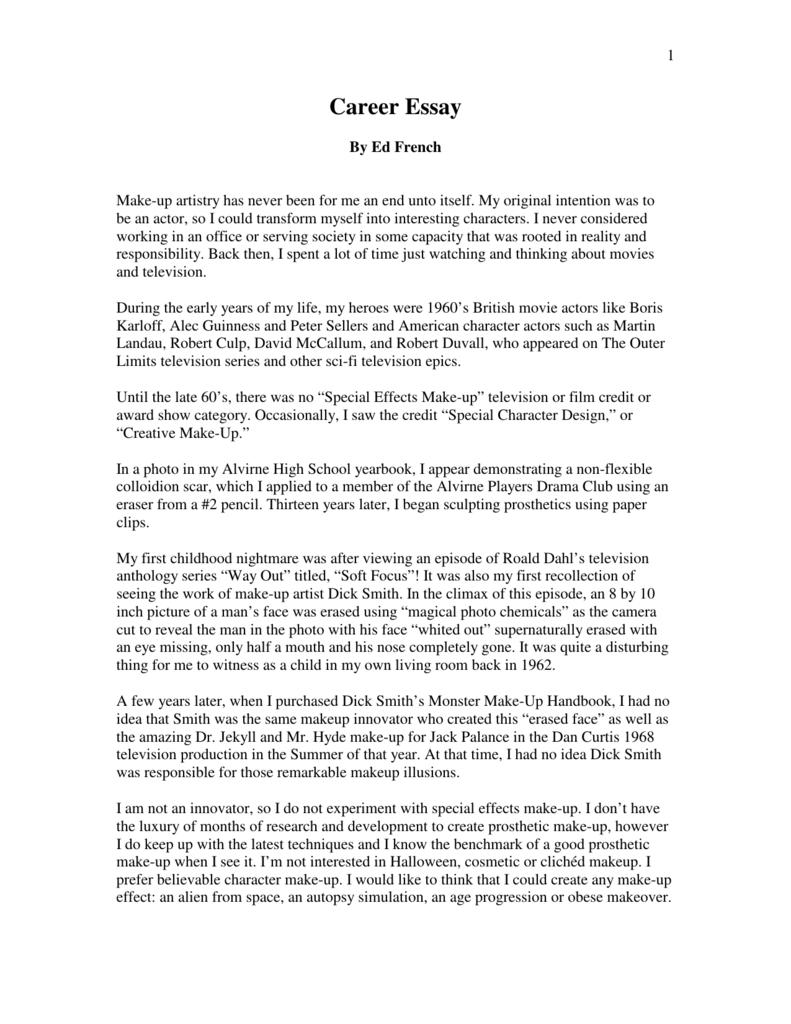 film analysis essay assignment