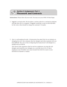 Piecework and Contracts