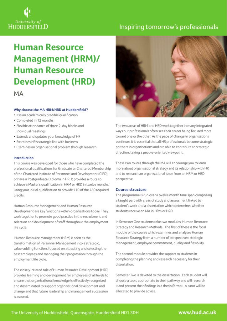 research topics on human resource development