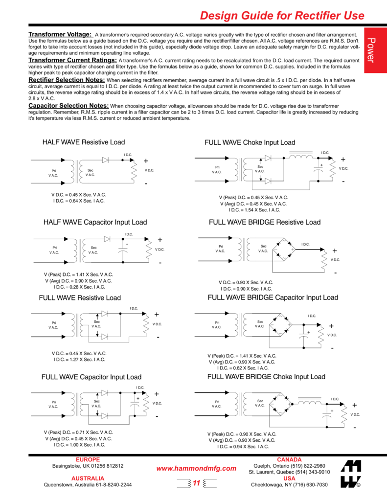 Design Guide For Rectifier Use Circuit Full Wave Capacitor Choke 008387508 1 59e66aa0760f698ad10b29d4a9826fdc