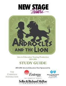 Androcles and the Lion Study Guide