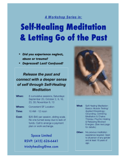 Self-Healing Meditation & Letting Go of the Past - FOG