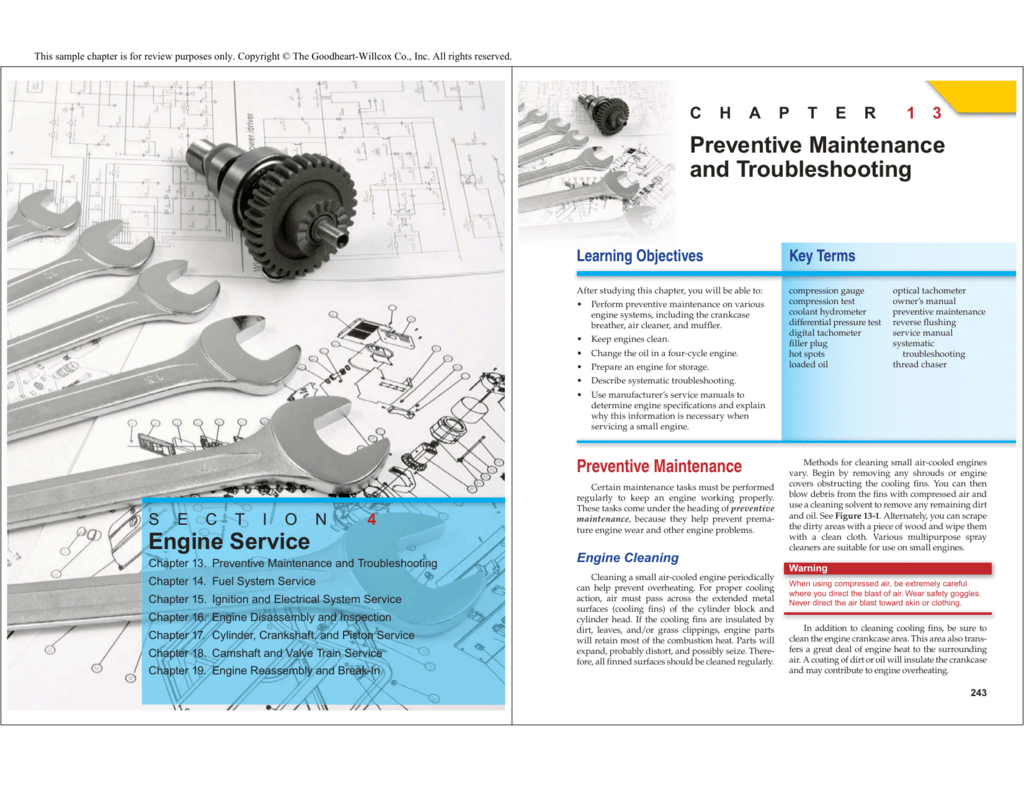 Engine Service Preventive Maintenance And Troubleshooting Opticalpickuptachometer Schematic