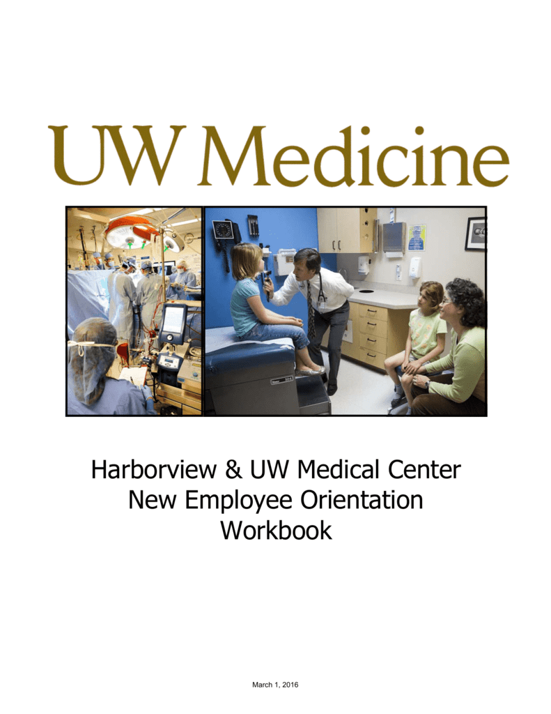 Harborview Uw Medical Center New Employee Orientation