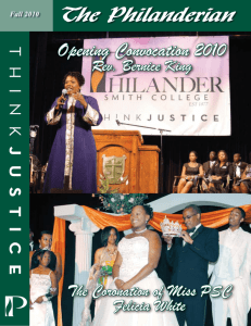 Fall 10 - Philander Smith College