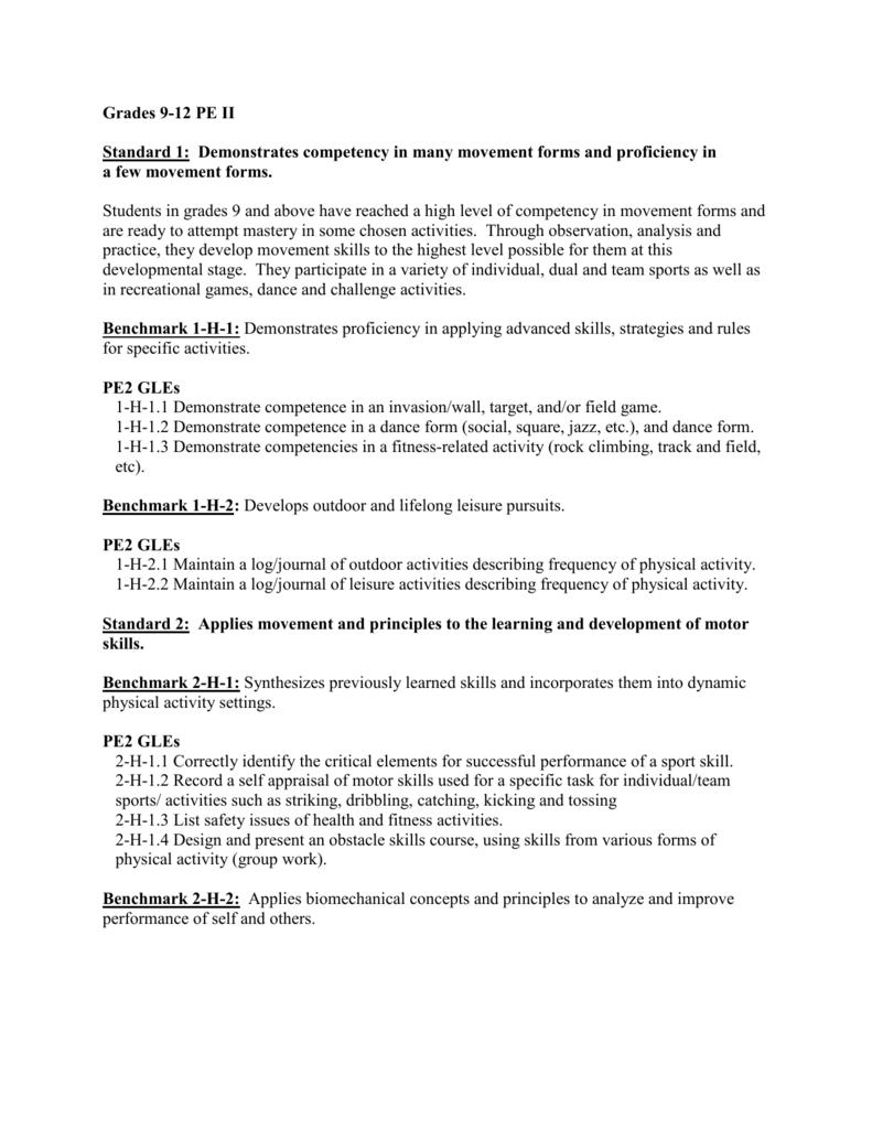 sports physical form louisiana  Grades 13-13 PE II - Louisiana Department of Education