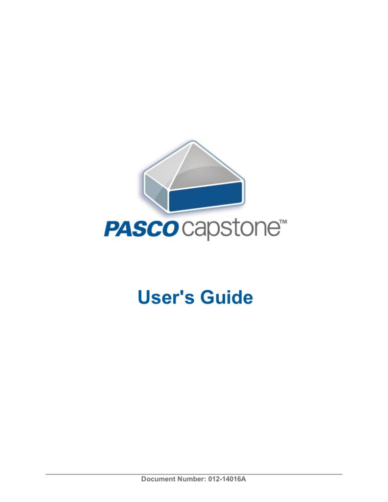 pasco capstone activation key