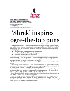 'Shrek' inspires ogre-the
