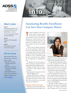 Automating Benefits Enrollment Can Save Your