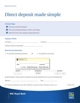 Direct deposit made simple