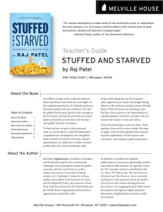 stuffed and starved - University of San Diego