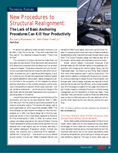 New Procedures to Structural Realignment