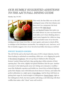 our humbly suggested additions to the ajc's fall dining guide