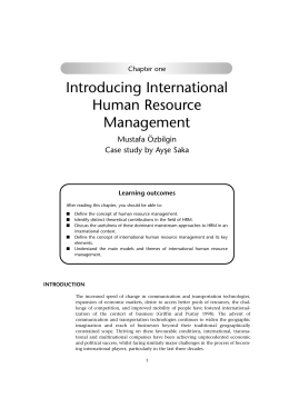 """variables that moderates differences between domestic hrm and international hrm Then what is international human resource management differences between domestic hrm and 11 thoughts on """"what is international human resource."""