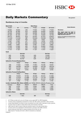 Daily Markets Commentary