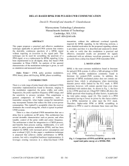 uwb thesis transmitter In this thesis, ultra-wideband (uwb) microwave filters and design challenges are   21: uwb system: (a) transmitter, (b) receiver, (c) licensed and unlicensed.
