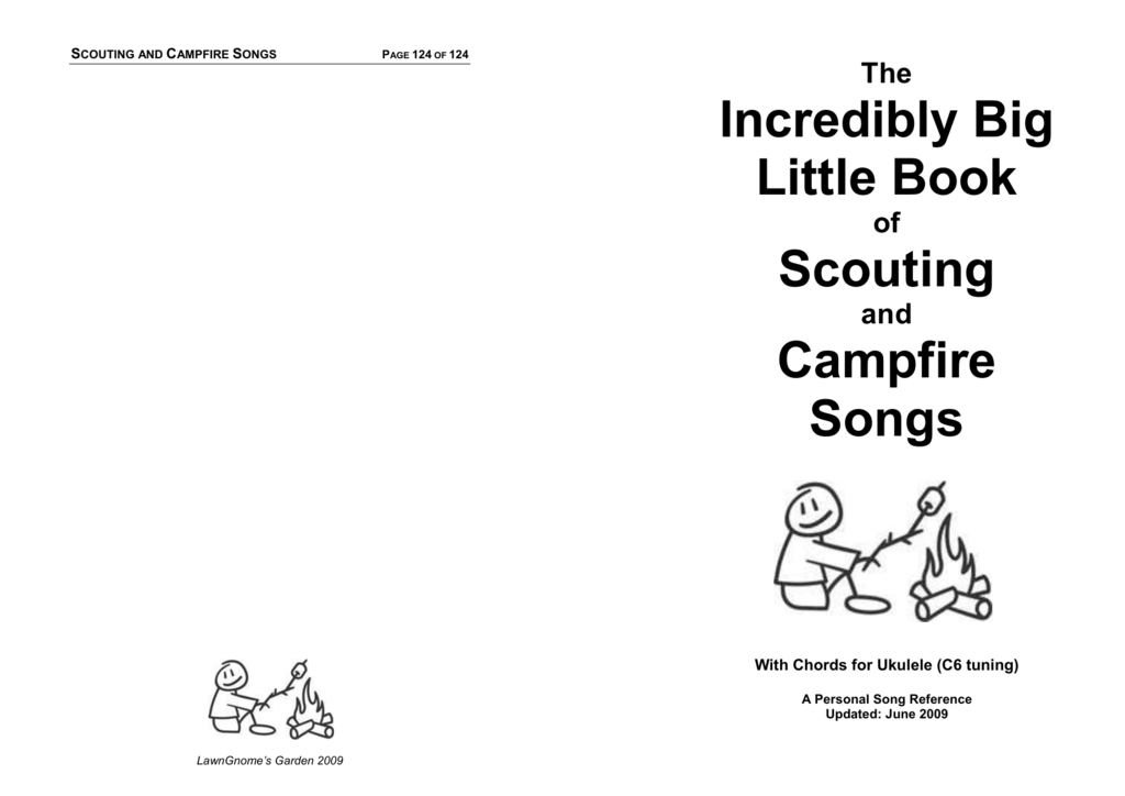 Campfire Song Book - Cossins Music School