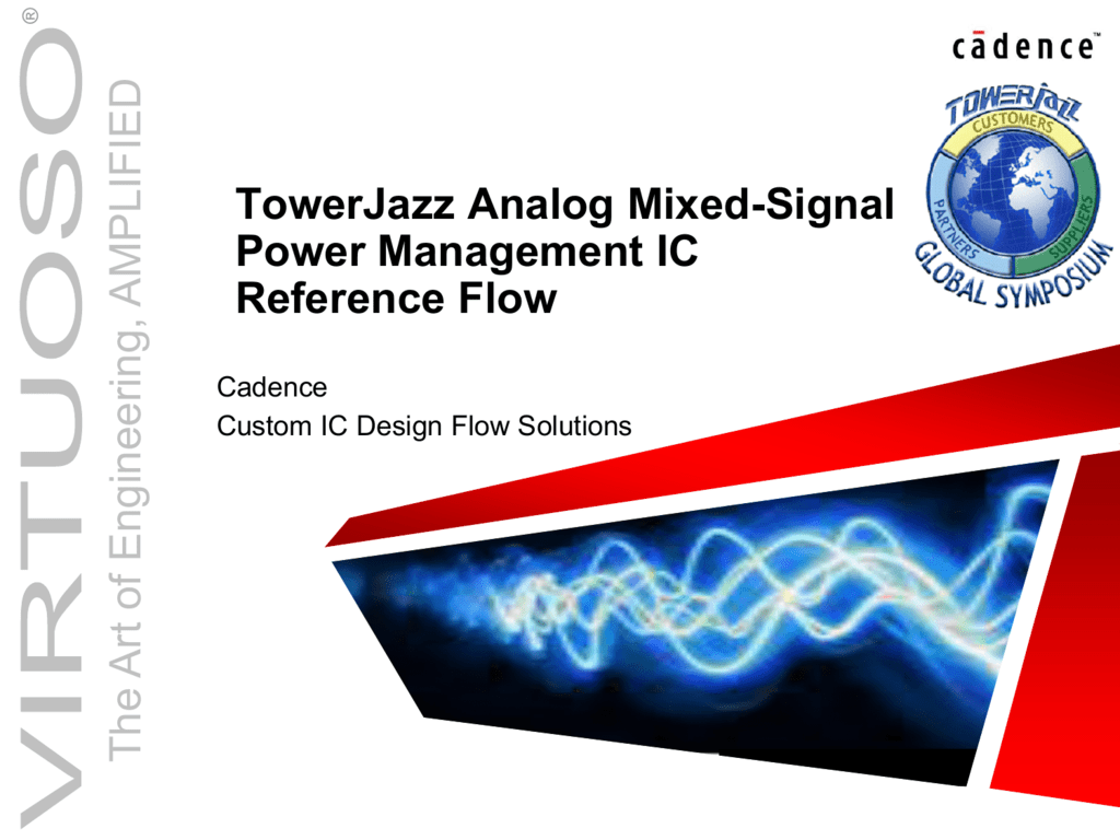 TpwerJazz AMS PM Reference Flow