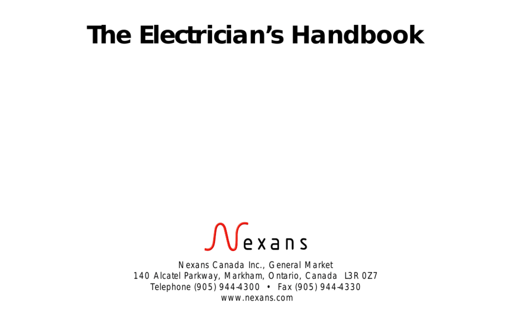 Electricians handbook english keyboard keysfo Images