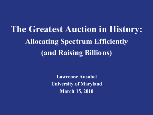 The Greatest Auction in History