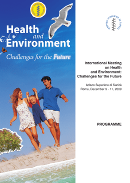International Meeting on Health and Environment