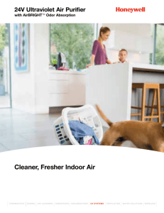 Cleaner, Fresher Indoor Air