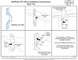 StiffClip RT1300 (The STEEL Network)
