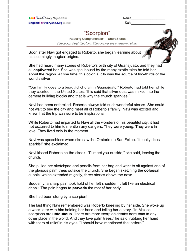 Scorpion - English for Everyone
