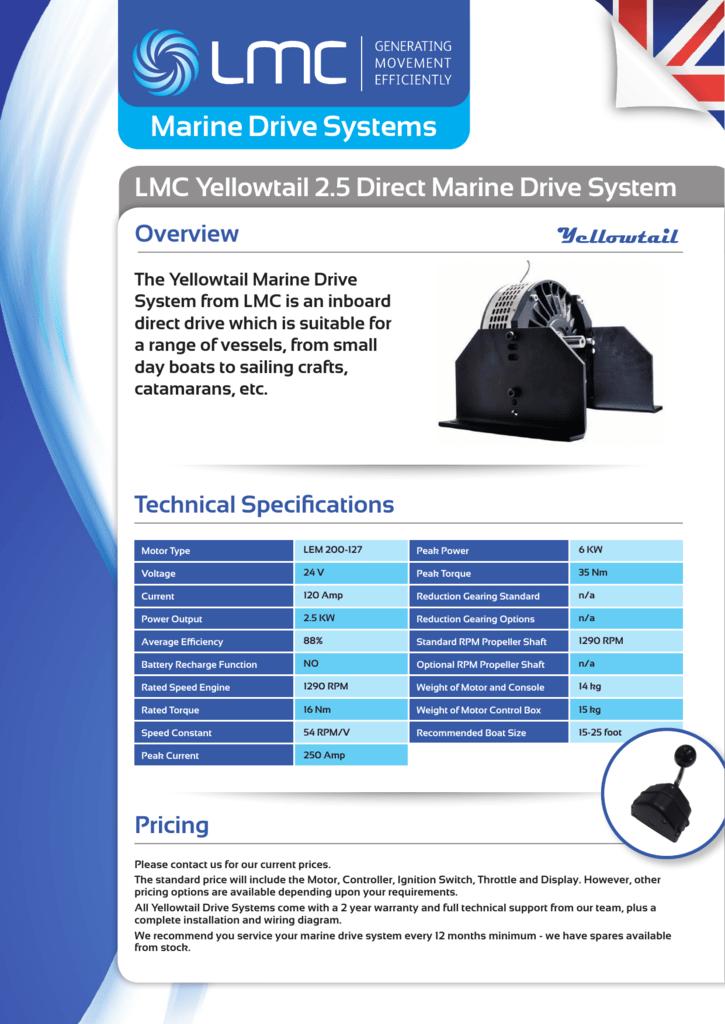 Marine Drive Systems - Lynch Motor Company Ltd