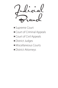 Judicial Branch - Oklahoma Department of Libraries