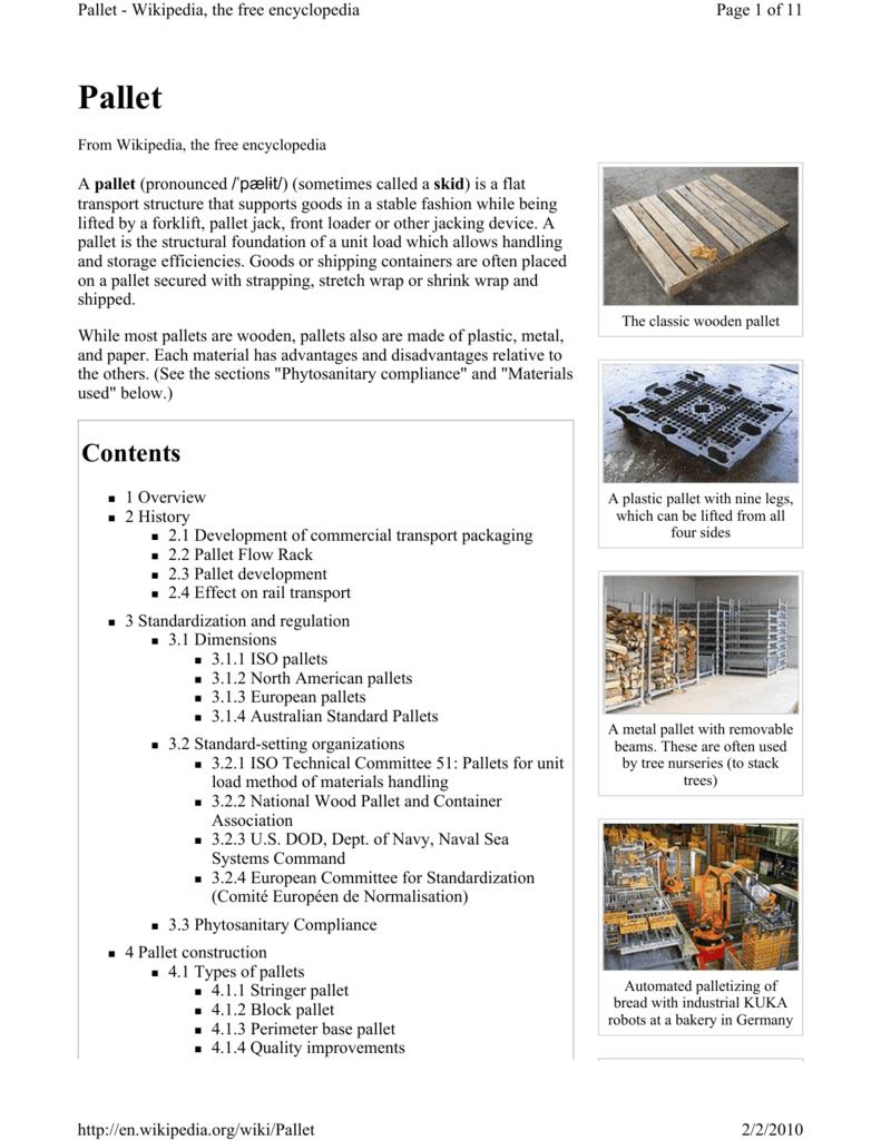 Pallet - Amazon Web Services
